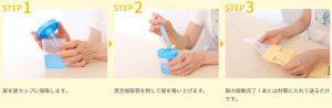 おうちでドック 尿採取の方法